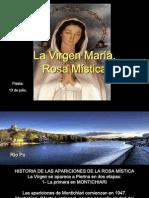 Virgen María Rosa Mística. 13 de Julio