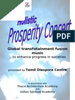 Prosperity Concert Brochure