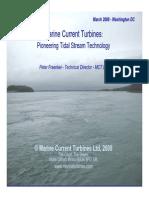 Marine Current Turbines