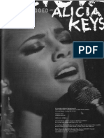 BOOK Alicia Keys - Unplugged