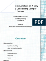 Seismic Response Analysis on A Very Tall Building Considering Damper Devices