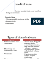 Biomedical Waste and Nuclear Waste