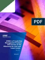 KPMG_Survey on Loan Loss Methodologies_2012