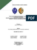 Grupo # 1 TEMA VI.EL SISTEMA ADMINISTRATIVO Y EL CONTROL GERENCIAL.docx