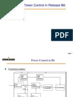 Alcatel Power Control in B6