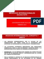 NEGOCIOS INTERN. 2° PARTE