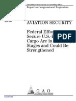 US-Air Cargo Safety Regulations