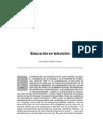 Educacion y TV