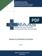 Manual Operacional RAS v.1.1