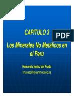 Los Minerales No Metálicos Del Perú