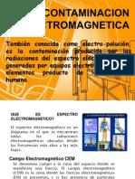 CONTAMINACION ELECTROMAGNETICA