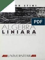 Algebra Liniara, by T. Stihi, 1999