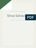 Shiva Sahasram
