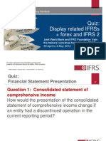 3. Quiz Display and IFRS 2