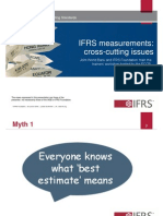 5. Measurement Cross Cutting Issues