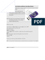 Shortcut Virus Removal in USB Pendrive