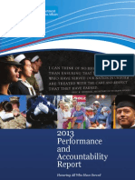 US Veterans Affairs 2013 Annual Report