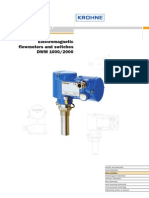 Flujometro Krohne Dwm2000 (Data Sheet)