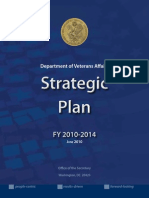 US Veterans Affairs 2010 2014 Strategic Plan