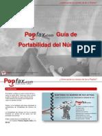 Portabilidad Del Numero Fax