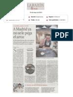 La Razón & Más, 16 de mayo de 2014