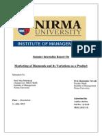 Summer Internship Report nirma
