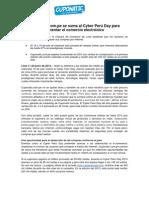 NP Cuponatic.com.pe se suma al Cyber Perú Day para fomentar el comercio electrónico