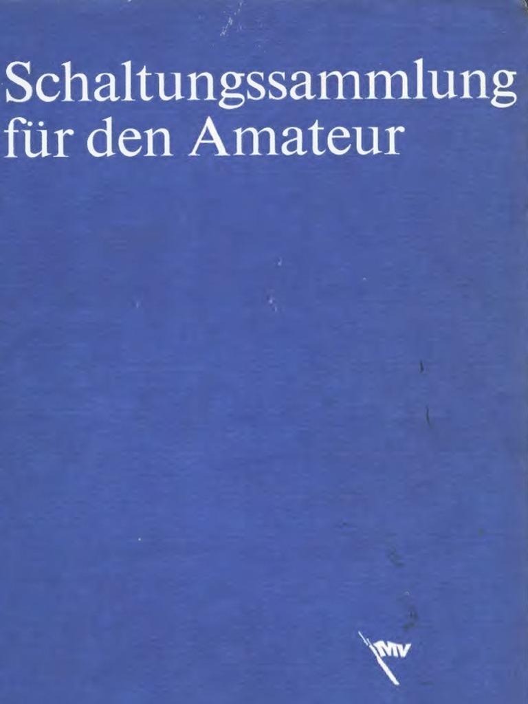 Schaltungssammlung / Lieferung 4 / Klaus Schlenzig / 1986