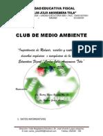 Proyecto de Club de Medio Ambiente
