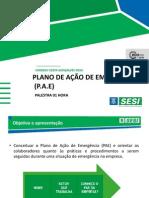 PLANO DE EMERGENCIA - P.A.E. [JUL-13].ppsx