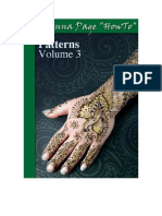 "The Henna Page ""How-to"" Patterns vol. 3"