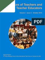 Voices of teachers and teacher educators