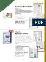 List of  Automotive electronics books