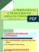 TREIN. ESPAÇO CONFINADO