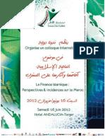 Colloque International PROGRAMME FI Tanger 160612