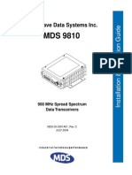 MDS Radio 9810 User Manual