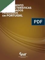 Levantamento das Características dos Agregados produzidos em Portugal