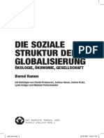Die soziale Struktur der Globalisierung - ÖKOLOGIE, ÖKONOMIE, GESELLSCHAFT