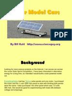 Solar Model Cars