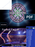 Who Wants to Be a Millionaire ESL version