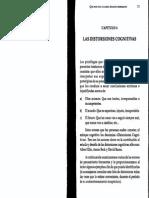 Ruiz, Alfredo - Cap. 4, Las Distorsiones Cognitivas