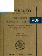 O'Connor - Esperanto (1907)