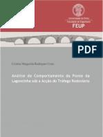 Análise do Comportamento da Ponte da Lagoncinha sob a Acção do Tráfego Rodoviário