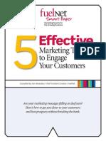 5 Effective Marketing Tips 2009