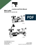 Manual Jet JWL 1220