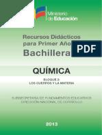 Quimica Recurso Didactico B2 090913