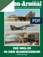 Waffen Arsenal - Band 141 - Die MiG-29 in der Bundeswehr