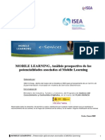 Movil Learning Potencialidades