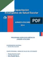 Capacitación Encargados de Salud Escolar 2014