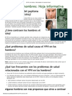 El VPH y Los Hombres - Enfermedades de Transmisión Sexual